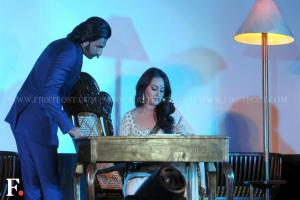 Images: Ranveer Singh and Sonakshi Sinha launch Lootera's trailer