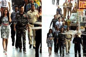 Spotted: Akshay Kumar, Sonakshi Sinha shooting for Thuppakki remake