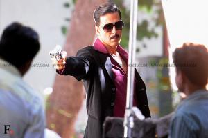 Images: Akshay Kumar on the sets of Once Upon a time in Mumbai - 2