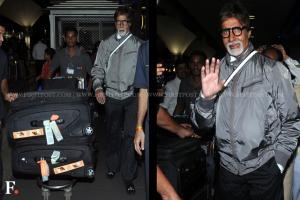 Images: Amitabh Bachchan back from Cannes