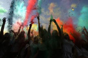 Photos: Have you heard of a Holi festival in Portugal?