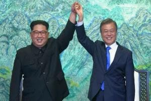 Kim Jong-un meets Moon Jae-in: North, South Korea agree to stop cross-border hostile acts after historic summit