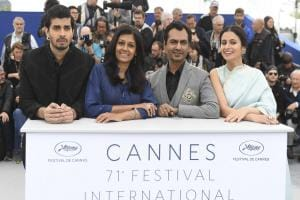 Nandita Das, Nawazuddin Siddiqui, Rasika Dugal attend world premiere of Manto at Cannes 2018