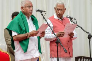 Karnataka Election Result 2018: BS Yeddyurappa sworn in as chief minister