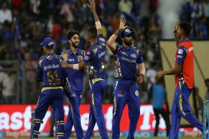 Mumbai Indians' bowlers deliver late to snatch 3-run win over Kings XI Punjab