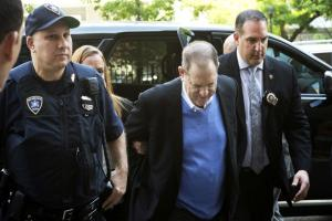 Hollywood producer Harvey Weinstein arrested on rape charges in New York, released on $1 million bail