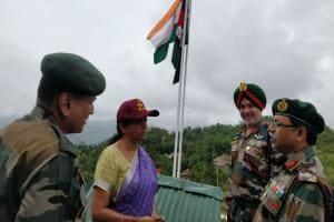 Nirmala Sitharaman reviews security situation at forward posts in Nagaland, meets local leaders