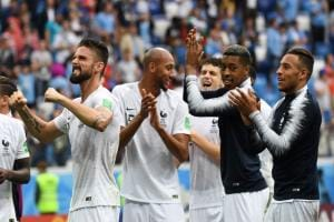 France and Belgium set up semi-final clash after ending Uruguay, Brazil's run at FIFA World Cup 2018