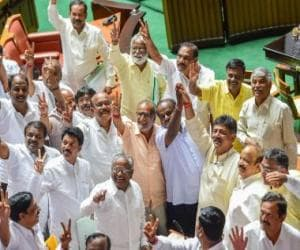 Karnataka govt formation updates: With BSY out of way, JD(S)-Congress discuss Cabinet berths, modalities of alliance