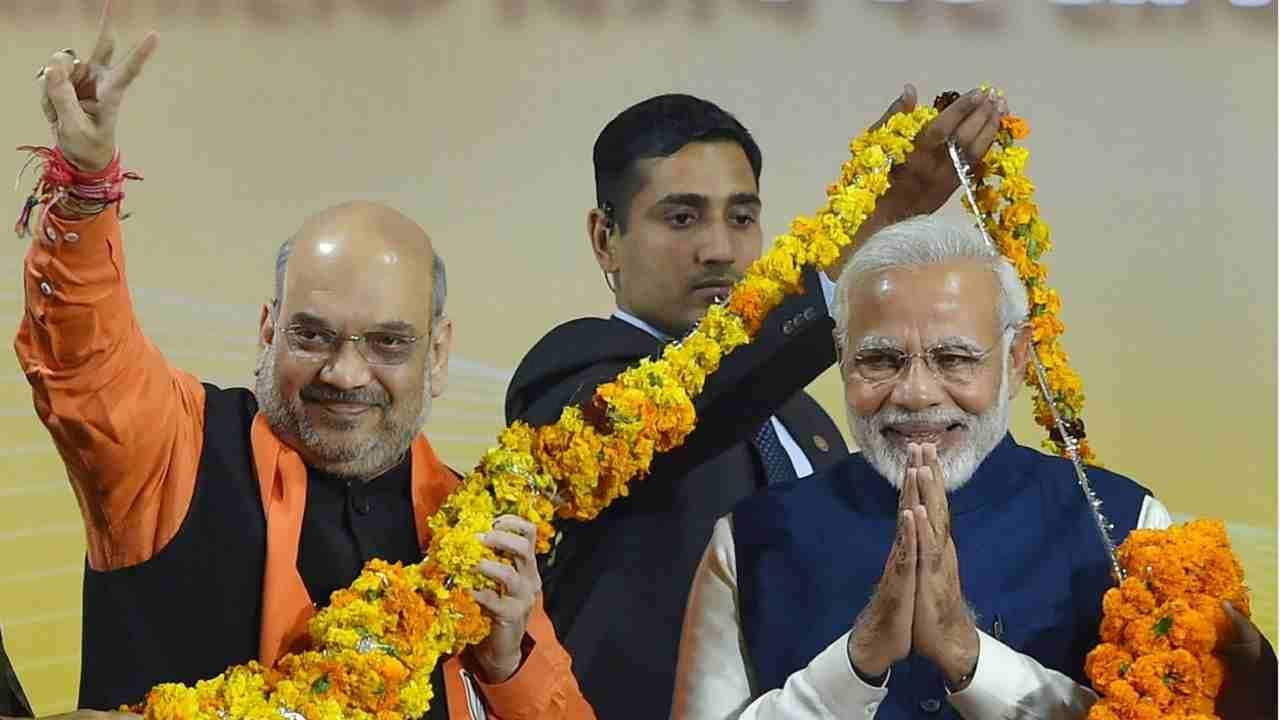 Narendra Modi, Amit Shah to begin three-day visit to Pune to attend national conference of top police officials today - Firstpost