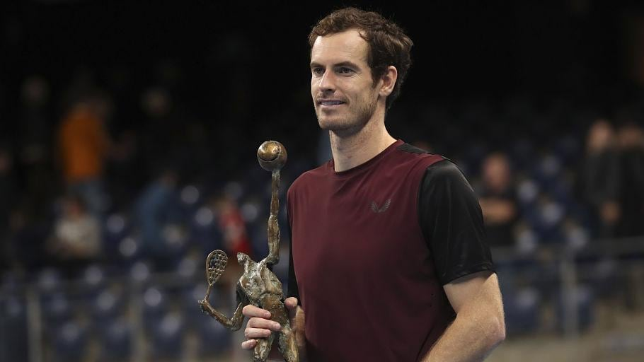 Tennis Rankings: Andy Murray rise continues after Antwerp title; Jelena Ostapenko returns to top-10 - Firstpost