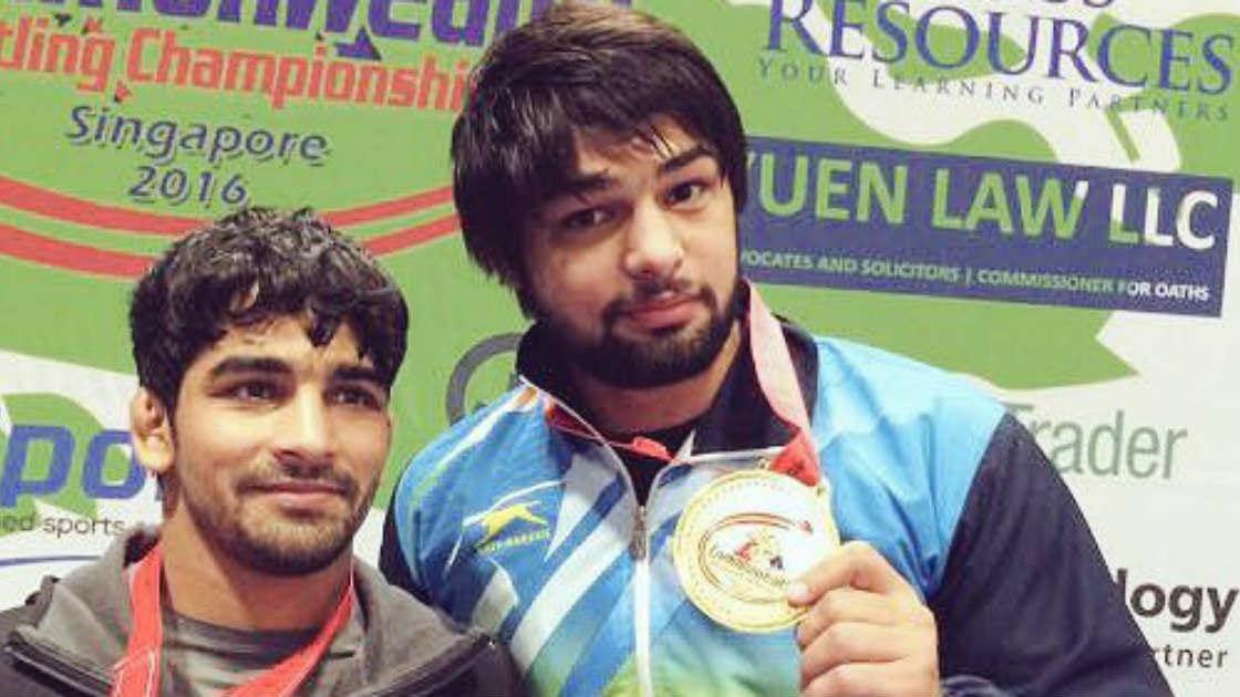 Wrestlers Sumit, Satyawart Kadiyan, Ravinder confirm South Asian Games berths with gold in senior national championships - Firstpost