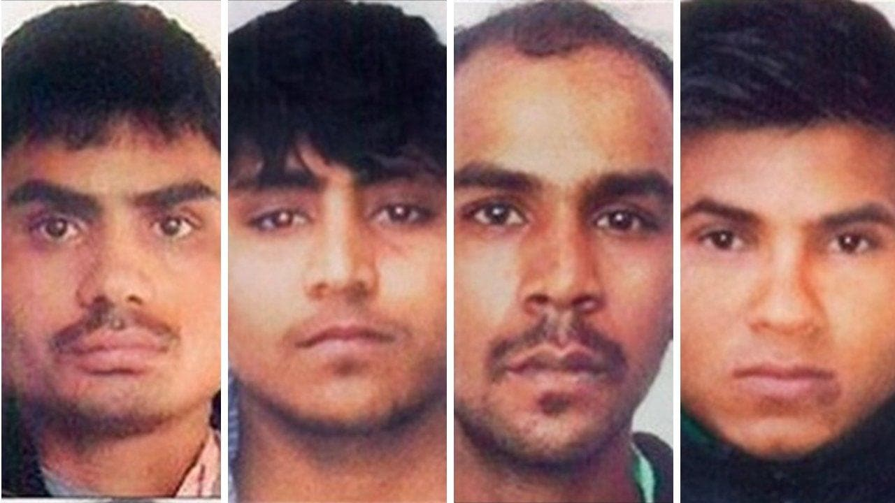 'Execution of 2012 Delhi gangrape convicts can't take place on 22 Jan as mercy plea of one still pending': Govt tells high court - Firstpost