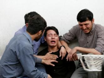 Two attacks in Afghanistan kill 92: Suicide blast in Kabul claims 48 lives; Taliban assault in Baghlan kills 44 policemen