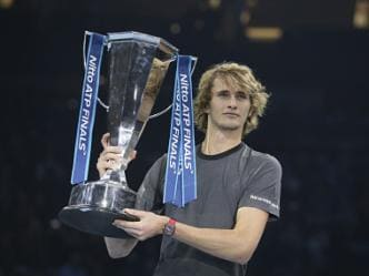 ATP Finals: Alexander Zverev outclasses Novak Djokovic in straight sets to win 'biggest title' of career