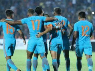 India vs Jordan, Football Live score and updates: Hosts' goalkeeper Shafi's strike separates both sides