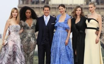 Tom Cruise, Michelle Monaghan, Rebecca Ferguson attend Mission Impossible: Fallout world premiere in Paris