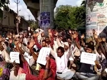 Made to pay for welfare schemes, a Bundelkhand village protests against years of corrupt administration