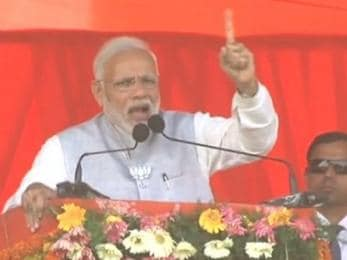 Narendra Modi in Raebareli: PM slams Congress in Sonia Gandhi's stronghold, says it's trying to create 'distrust' in judiciary