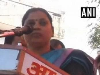 Sadhana Singh issues apology after abusing Mayawati, says only intention was to remind BSP of BJP support in 1995