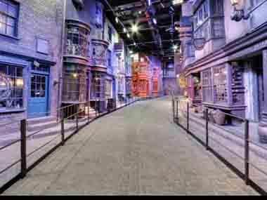 Explore Harry Potter's 'Diagon Alley' on Google Maps