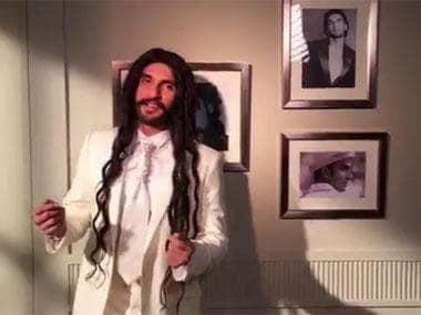 Ranveer Singh gives Hrithik Roshan a return gift: A Dubsmash video of him playing Taher Shah