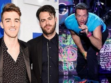 Watch: The Chainsmokers, Coldplay collaborate for their new single 'Something Just Like This'