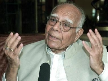 BJP, Ram Jethmalani resolve issue of lawyer's expulsion from party; urge Delhi court to end pending suit