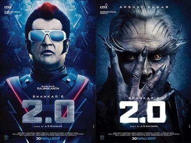 2.0 box office collection: Hindi version earns Rs 18 cr on day 2, bringing up total to Rs 38.25 cr