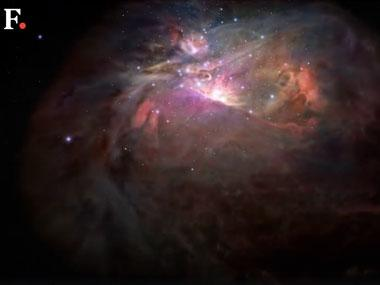 Dive through the Orion Nebula with NASA's spectacular new visualisation