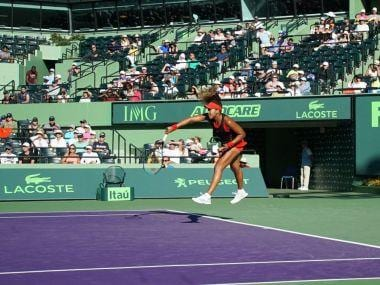 Miami Open: Serena Williams crashes out in first round with straight sets defeat against Indian Wells champ Naomi Osaka