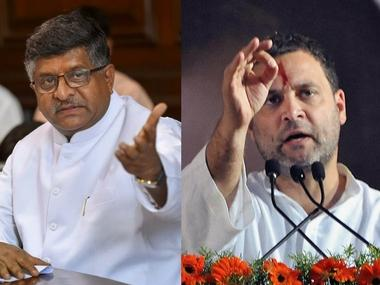 Cambridge Analytica row: BJP, Congress trade barbs; RJD questions JD(U)'s 'zero tolerance' policy