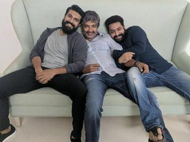 RRR: Action sequence, featuring Jr NTR and Ram Charan, leaked from sets of SS Rajamouli's upcoming film