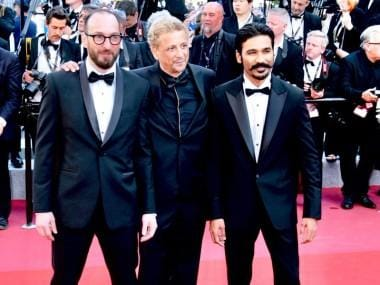 Cannes 2018: Dhanush walks red carpet for maiden Hollywood venture The Extraordinary Journey Of The Fakir