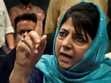 'Attempt to demolish idea of India',: Mehbooba Mufti slams BJP for changing names of cities, towns