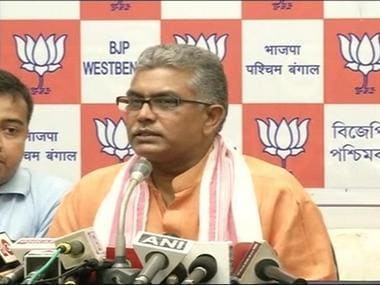 West Bengal BJP chief Dilip Ghosh says President's Rule 'necessary' in state after TMC govt denies nod for rath yatra