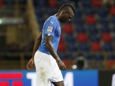 Euro 2020 qualifiers: Mario Balotelli overlooked due to lack of fitness, says Italy coach Roberto Mancini