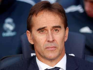 Former Real Madrid coach Julen Lopetegui open to possibility of coaching team in Premier League