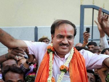 Ananth Kumar was everybody's favourite; his death comes at a time when BJP in Karnataka needed him most