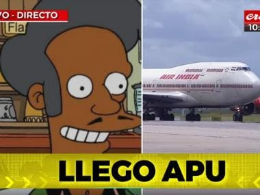 Argentinian channel Cronica TV issues bizarre welcome to Narendra Modi, claims 'Apu Arrived' as PM arrives in Buenos Aires