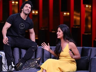 Koffee with Karan season 6: Katrina Kaif, Varun Dhawan to reignite old battles on Karan Johar's show
