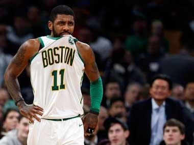 NBA: Boston Celtics point guard Kyrie Irving has suffered strain on right knee, reveals MRI report