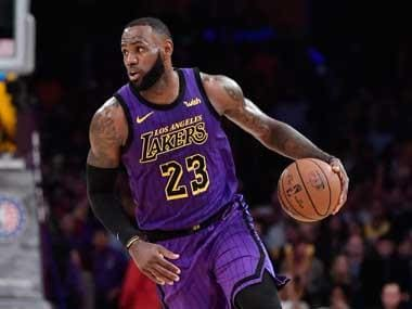 NBA: LeBron James leapfrogs Wilt Chamberlain in all-time scoring rankings with 44-point haul against Portland Trail Blazers