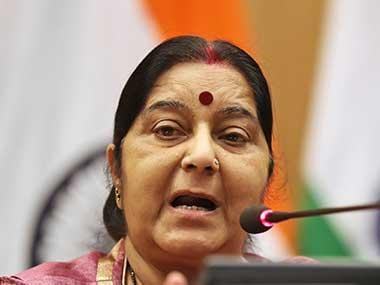 Sushma Swaraj asks over 500 Indians stranded in violence-hit Tripoli to leave immediately