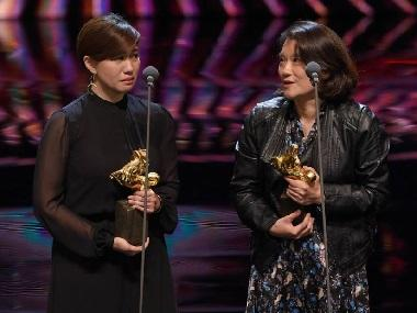 China's Golden Horse Awards sees a winner rally for Taiwan's independence in acceptance speech