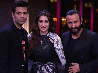 Koffee with Karan: Father-daughter duo Saif Ali Khan, Sara to appear together on Karan Johar's talk show