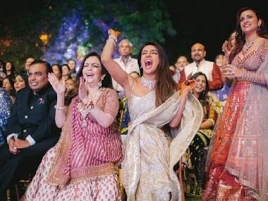 Priyanka Chopra, Nick Jonas wedding: Couple share video, photos from colourful sangeet ceremony