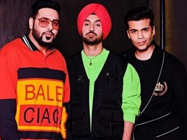 Koffee with Karan season 6: Diljit Dosanjh, Badshah talk fashion, first gigs, and meeting their idols