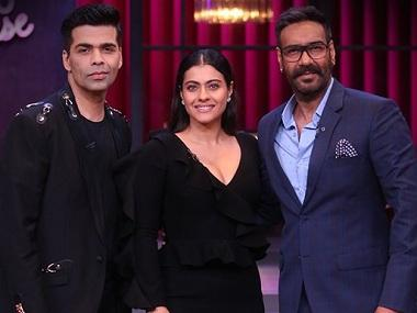 Koffee with Karan season 6: Ajay Devgn, Kajol discuss their marriage, films, and fallout with Johar