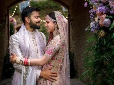 Anushka Sharma wishes Virat Kohli on first wedding anniversary: It's heaven when you marry a good man